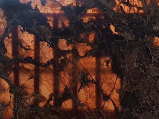 Backlit Copper Onyx