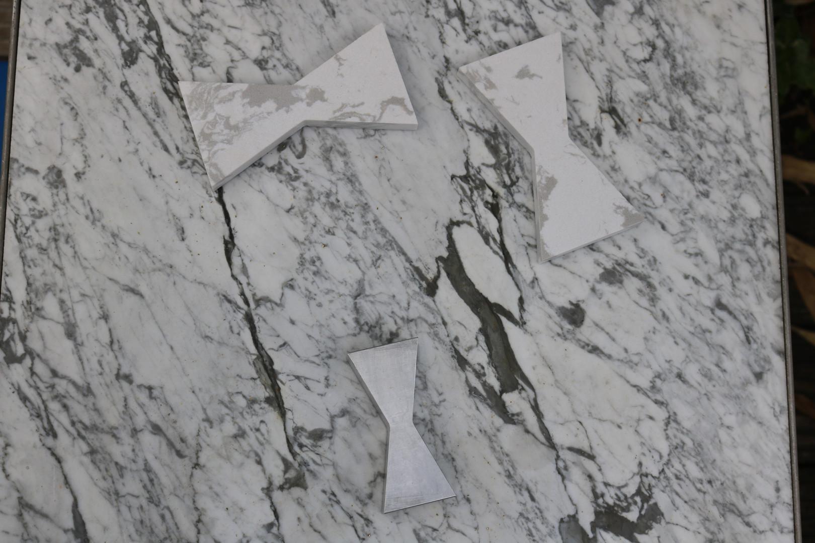 White Cararra Marble