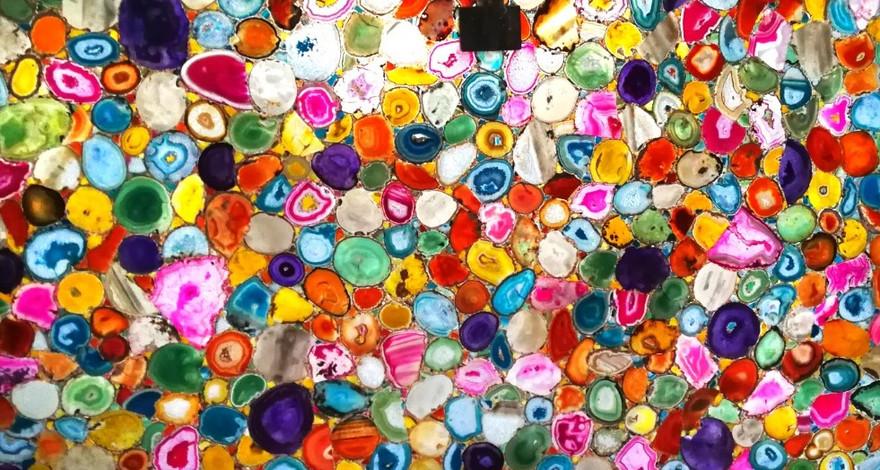Multicolour Agate Gemstone