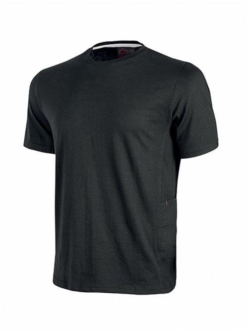 T-shirt Road U-Power black carbon