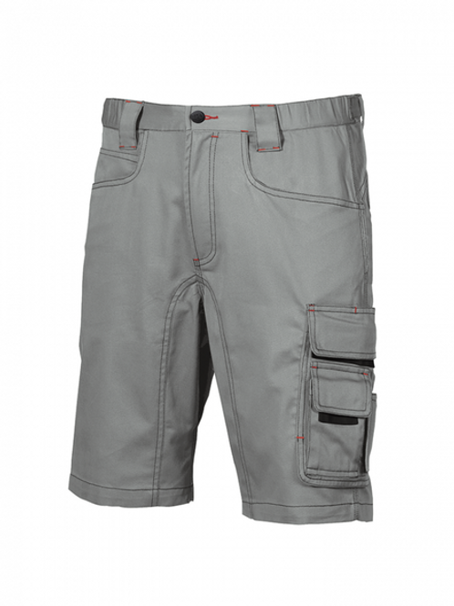 Pantalone corto Party U-Power stone grey