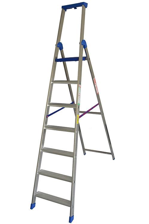 Scala in alluminio Marchetti Climb Evo 7 gradini mt 2,60