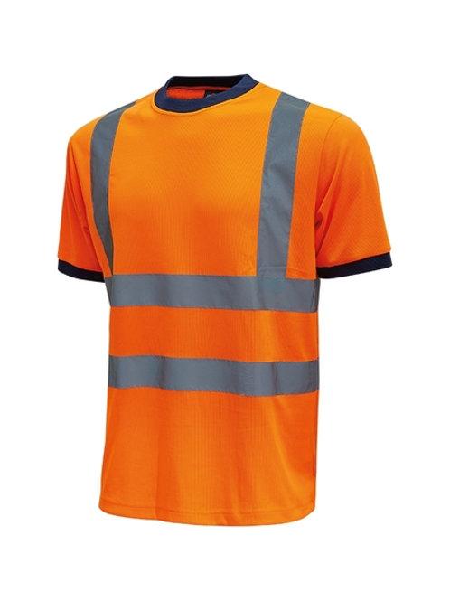 T-shirt Orange Mist U-Power
