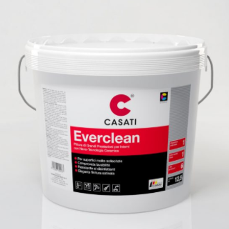 Idropittura Antimacchia/Lavabile CASATI Everclean 12,5lt x interno