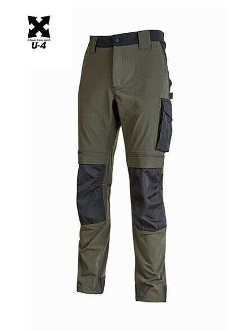 Pantalone Atom Dark Green invernale U-power