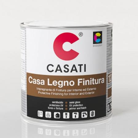 Finitura cerosa a solvente CASATI Casa legno 2,5lt