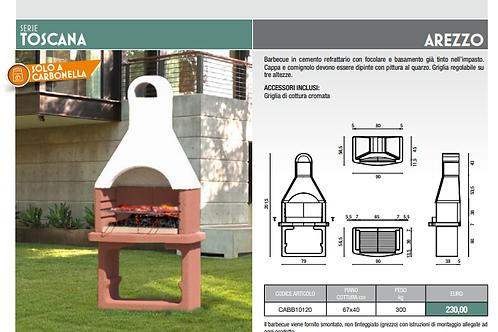 Barbecue Arezzo solo carbonella
