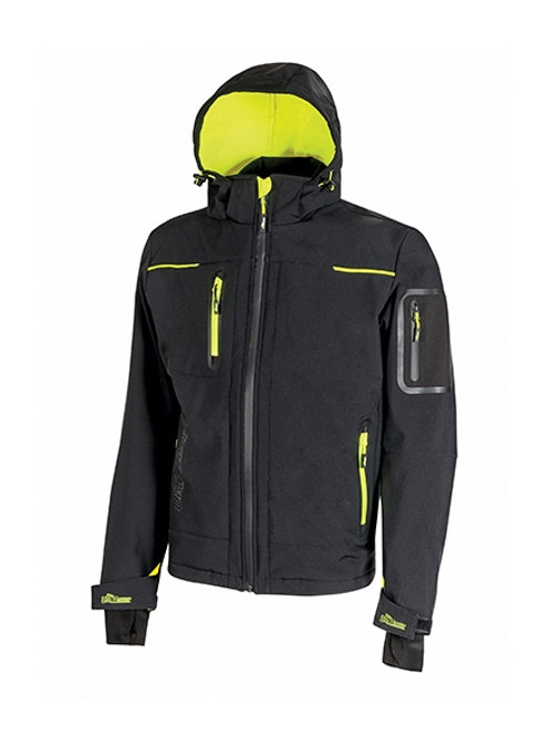 Giacca Space black carbon invernale U-Power