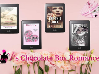 Laugh, Cry & Fall in Love with Krissy V's Chocolate Box Romance