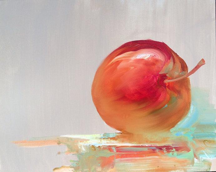 Olie på træplade / Oil / 40x50 cm / Maleri / Painting