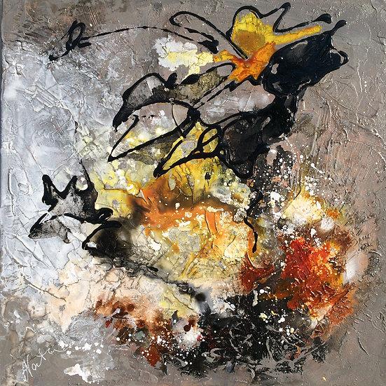 Olie på lærred / Oil /  50x50 cm / Maleri / Painting