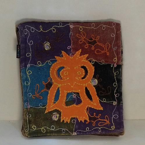 Owl Embroidered Shoulder Bag
