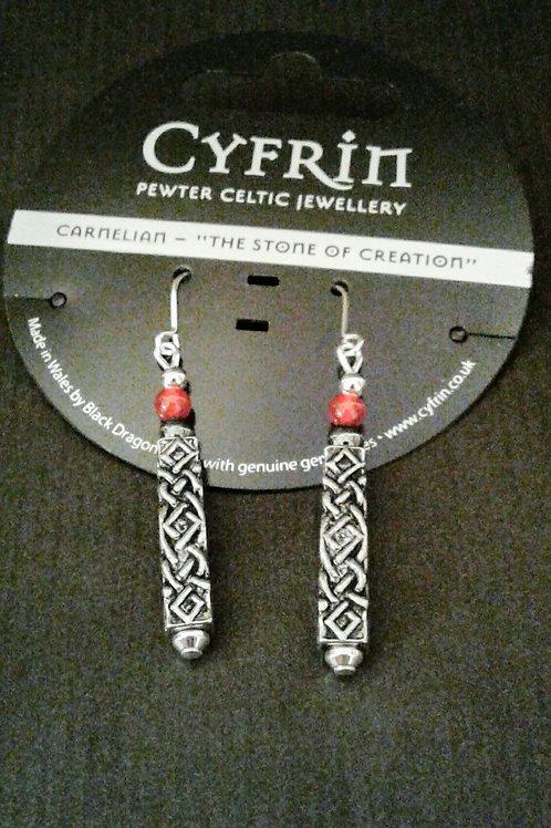 Handmade Celtic Earings