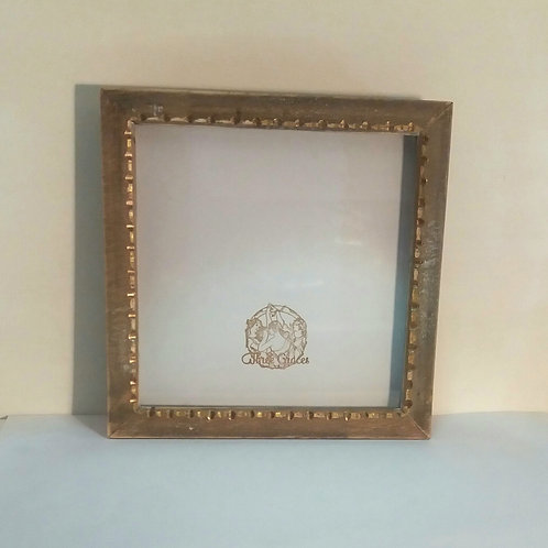 Carved Wooden Craft Frame