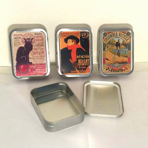 Collectors Tins - Set of 3