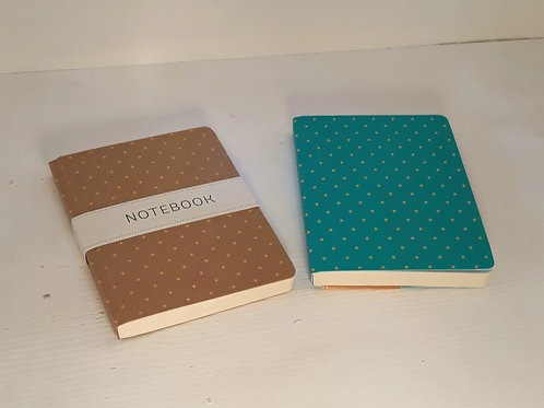 A6 Spotted Notebook