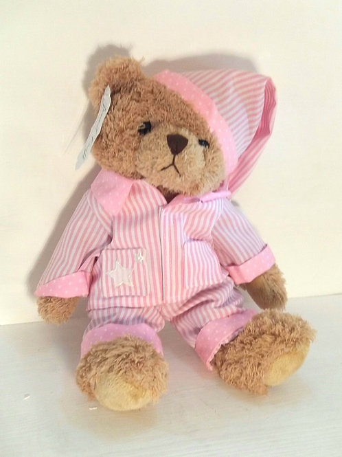 Pink Pajama Bear Medium