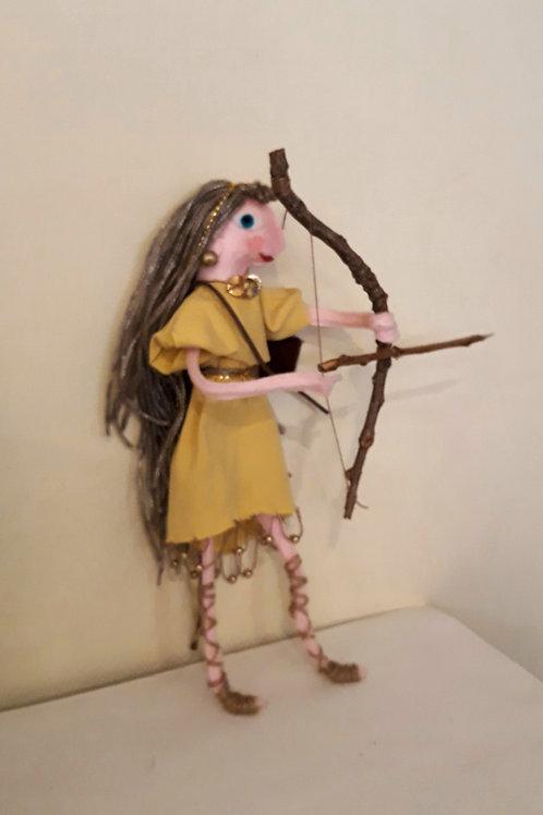 Goddess Artemis (Roman: Diana)