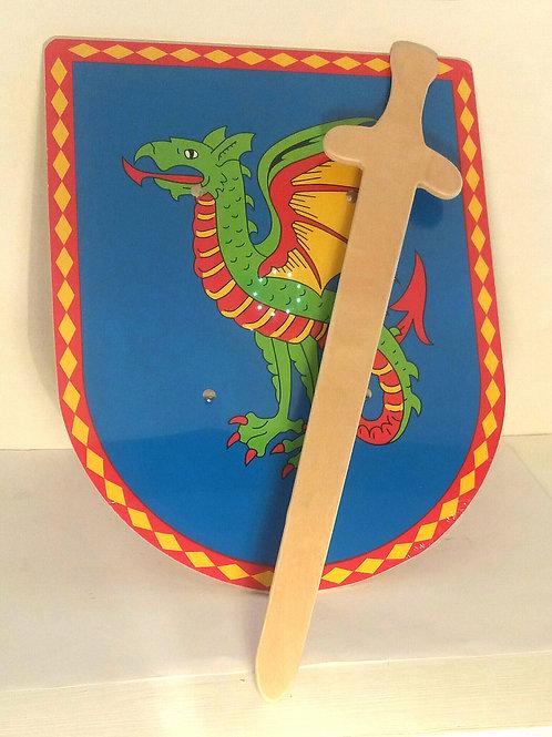 Dragon Shield and Sword
