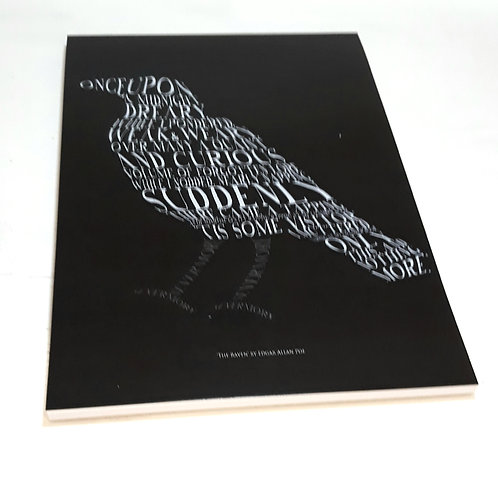 A5 Edgar Allan Poe Notebook