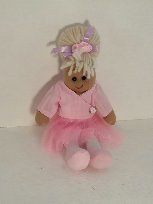 Ballerina Rag Doll Small