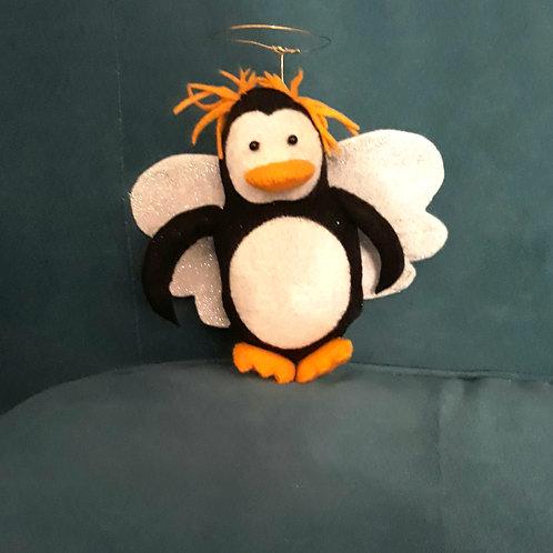 Penguin Angel Tree Topper