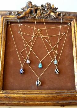 Faberge Style Pendants