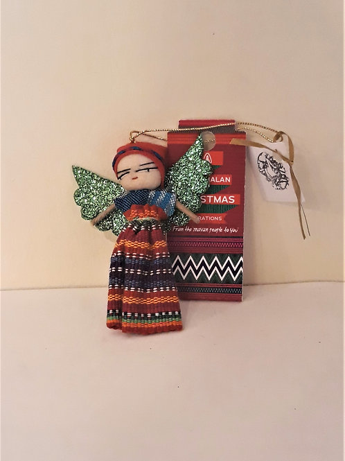 Guardian Angel Worry Doll Hanging Decoration