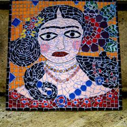 Frida Kahlo Mosaic