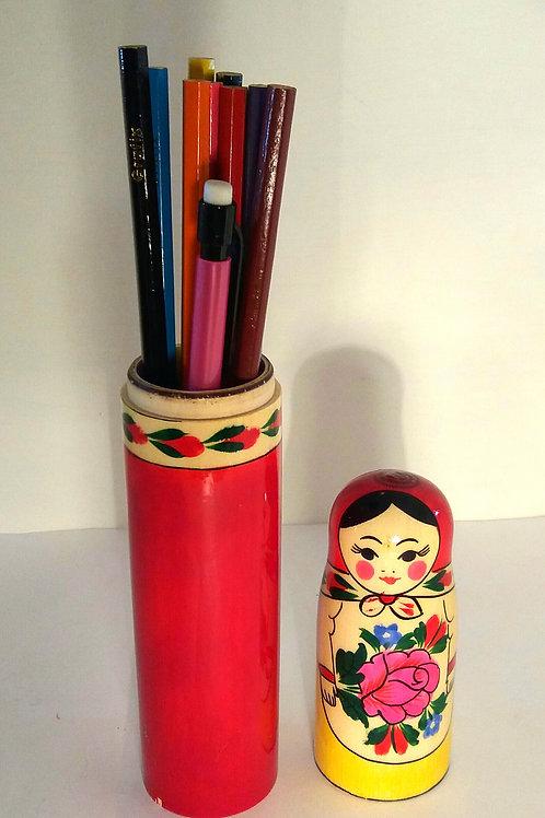 Matryoshka Pencil Box