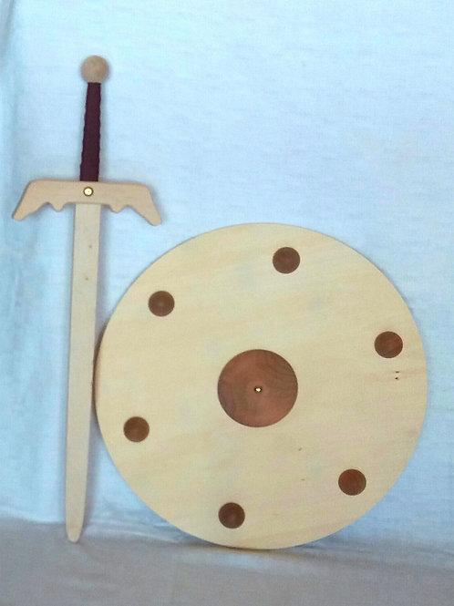 Viking Shield and Sword