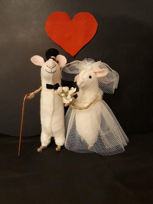 Wedding Mice - Pair