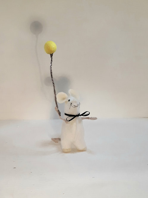 Yellow Balloon Mouse