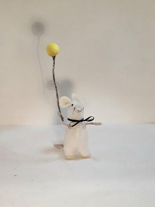 Yellow Balloon Mouse