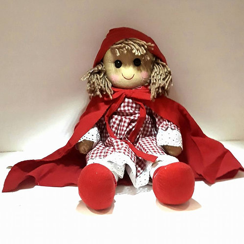 Red Riding Hood Rag Doll Large