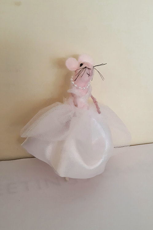 White Dress Mouse