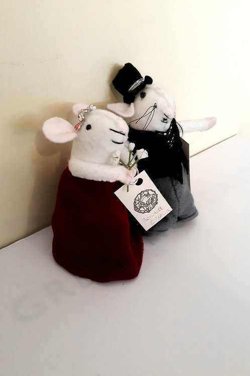 Scarlett O'Hara and Rhett Butler Mice