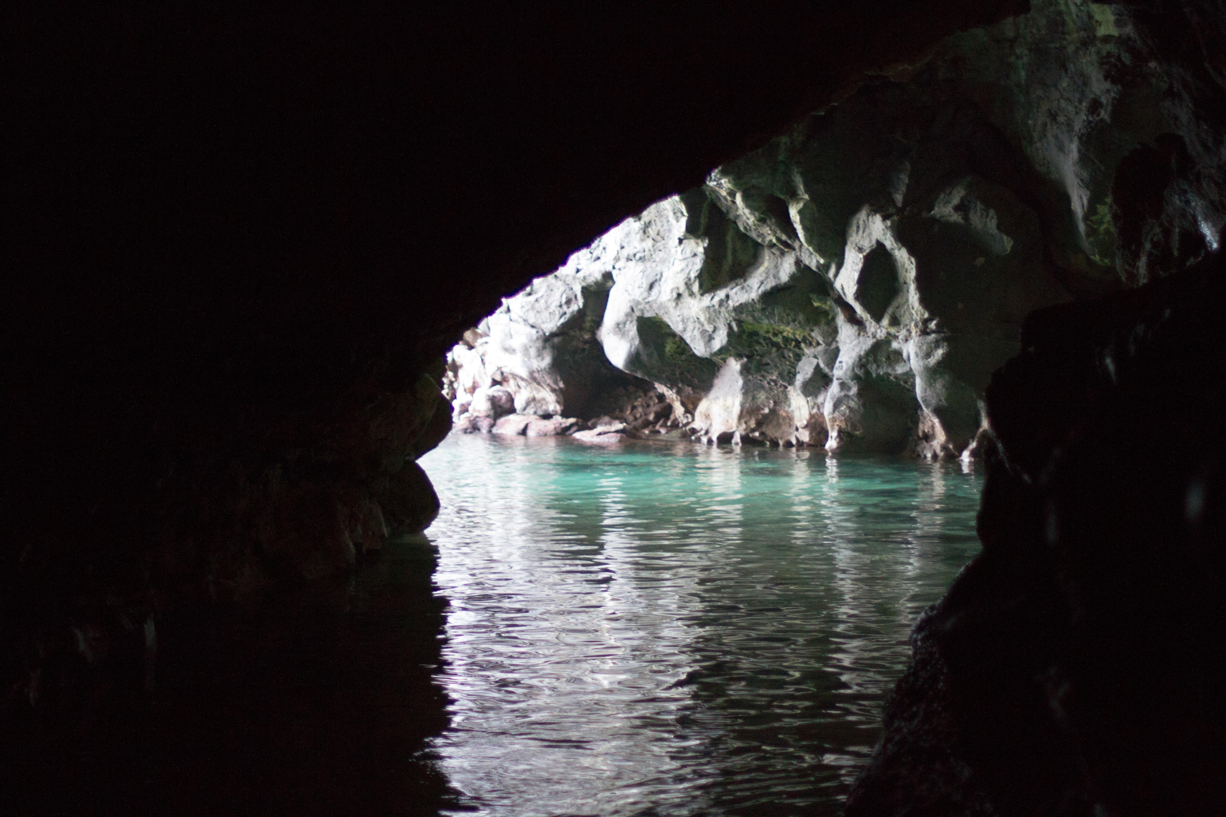 KH- inside cave