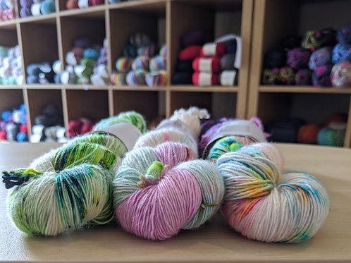 For the love of yarn (merino singles)