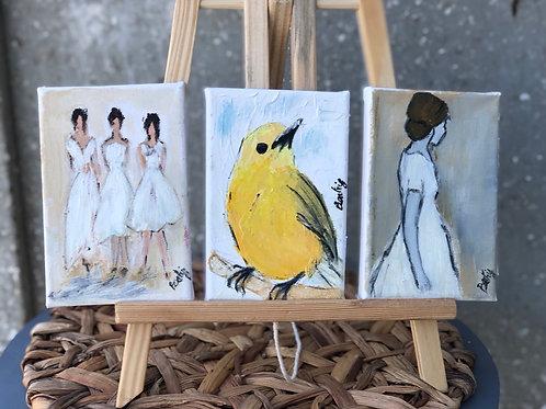 ציורי שמן מיני