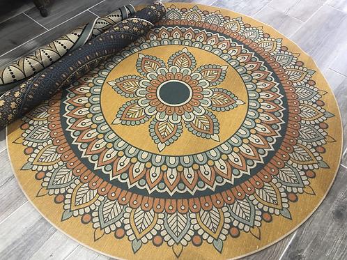 שטיחי גומי עגולים