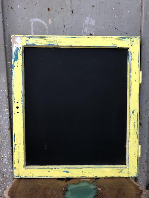 לוח גיר מסגרת חלון וינטג׳