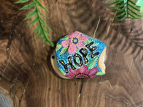 אבן מקושטת hope