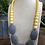 Thumbnail: שרשרת סיליקון צהוב אפור