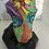 Thumbnail: אבן מקושטת פרצוף צבעוני