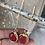 Thumbnail: עגילים אבן אדומה