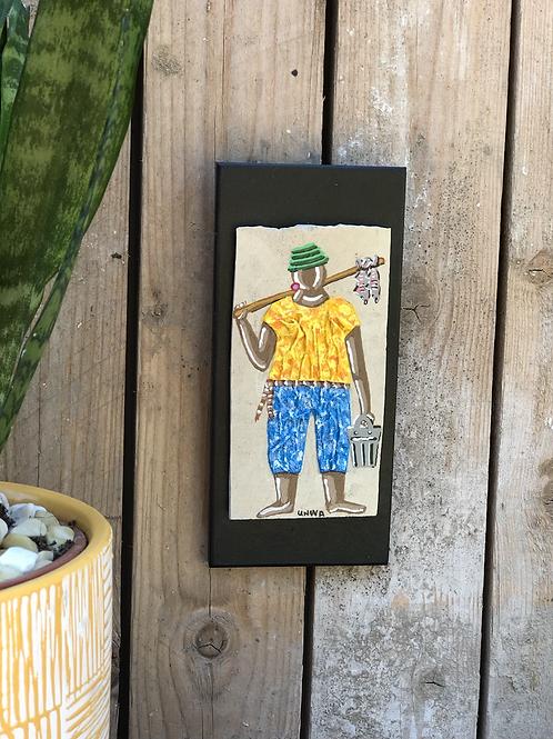 הדייג בצהוב