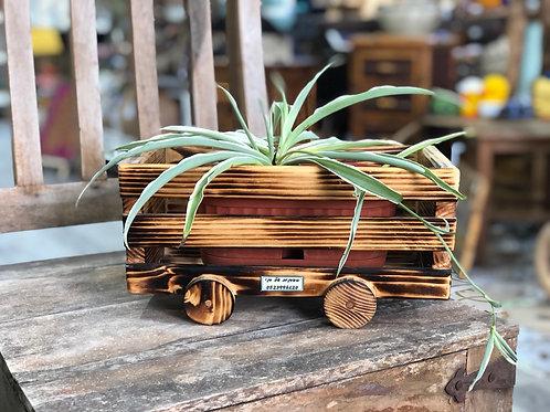 אדנית עגלה מעץ