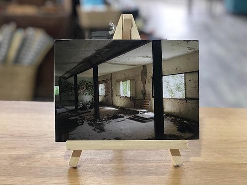 צילום מבנה ישן