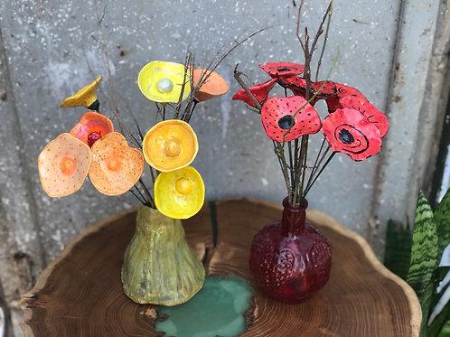 פרחי קרמיקה באגרטל